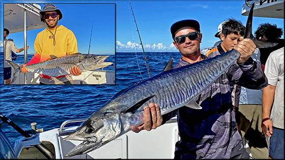 The Noosa Fishing Report, as at Friday January 18, 2019.